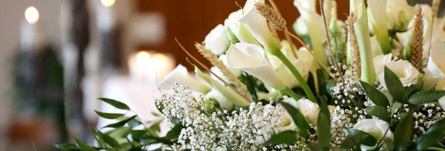 Fleurs pour un décès